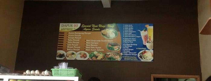 Dapur 93 is one of Nasibmu MALANG.