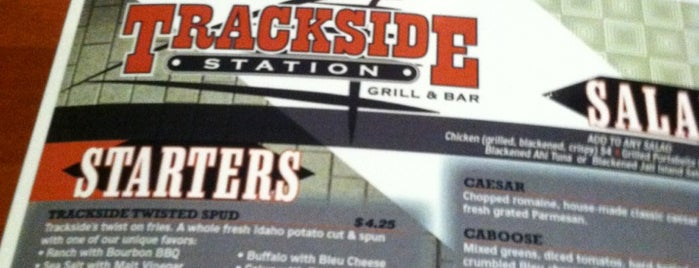 Trackside Station Grill & Bar is one of Foodie - Misc 1.