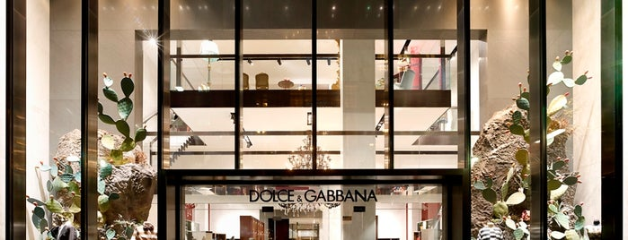 Dolce&Gabbana is one of NYC.