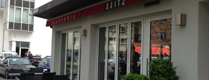 SEITZ Trattoria is one of MUN.