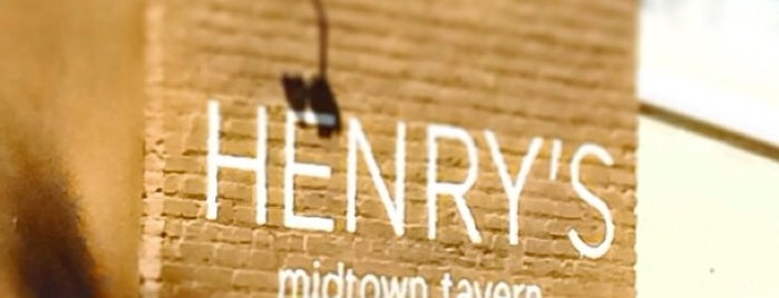 Henry's Midtown Tavern is one of Need to Eat Atlanta.