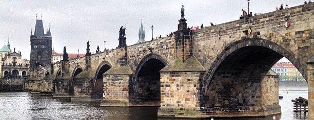 Karlův most | Charles Bridge is one of Prag.