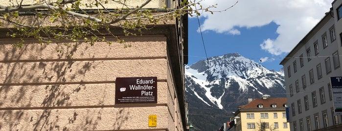 Kaufhaus Tyrol Garage is one of Innsbruck.