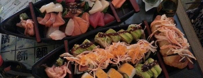 Banzai Sushi is one of Lugares favoritos.