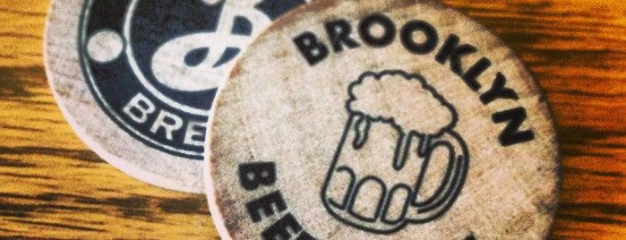 Brooklyn Brewery is one of Brooklyn.