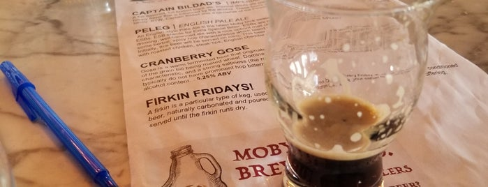 Moby Dick Brewing Company is one of South Coast.