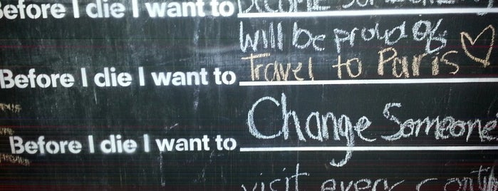 Before I Die ... Wall is one of United States.