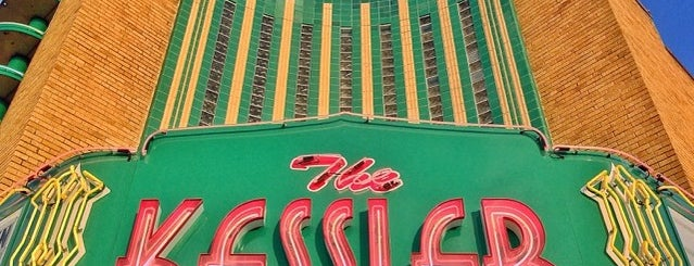 The Kessler Theater is one of Dallas-Fort Worth.