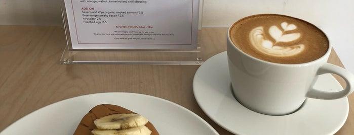Kiss the Hippo Coffee is one of Cafés EU.