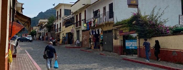 Tepoztlan, Morelos is one of Lieux qui ont plu à Sandy.
