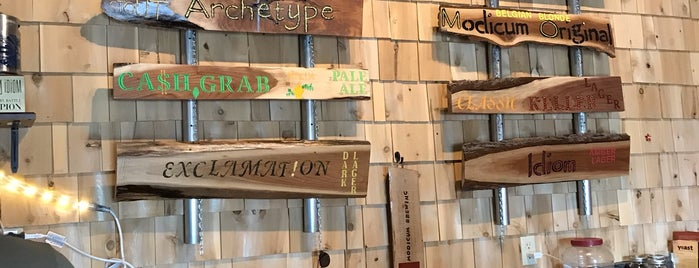 Modicum Brewing is one of Good Draft Beer Places in Eau Claire, WI.