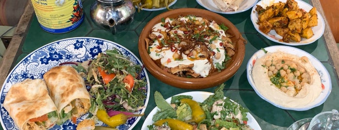 Comptoir Libanais is one of London.