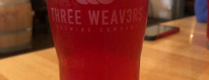 Three Weavers Brewery is one of LA.