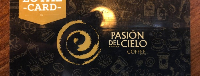 PASIÓN DEL CIELO CAFE is one of Lieux qui ont plu à Diana.