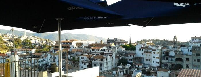 La Buena Vista Café is one of Taxco.