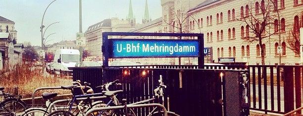U Mehringdamm is one of U & S Bahnen Berlin by. RayJay.