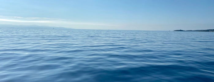 Paxos Island is one of Corfu, Greece.