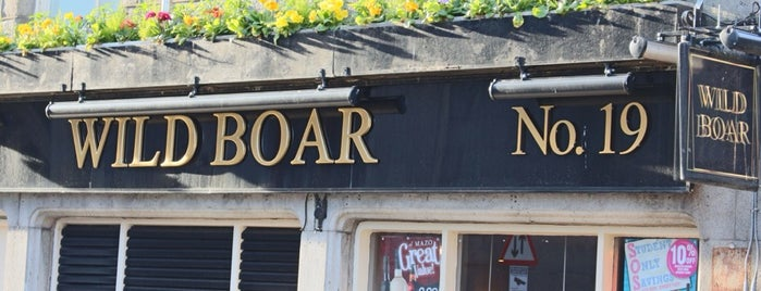 The Wild Boar is one of Aberdeen pub crawl.