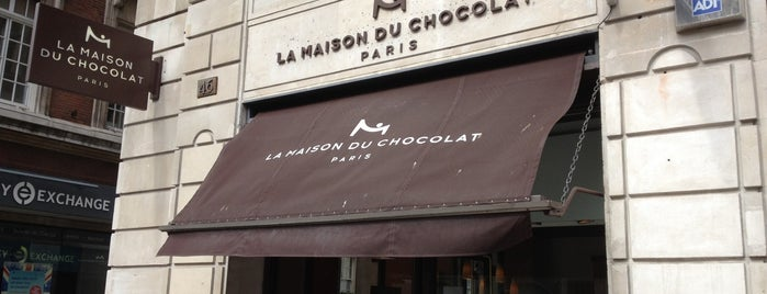 La Maison du Chocolat is one of London.
