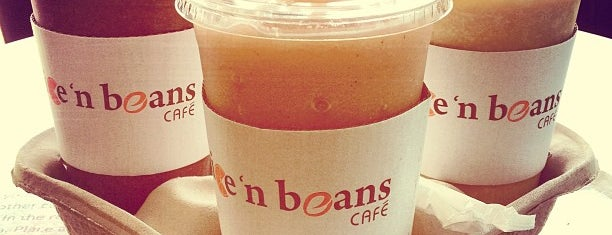 juice 'n beans café is one of Rich'in Kaydettiği Mekanlar.
