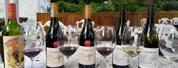 Chamonix Wine Estate is one of South Africa.