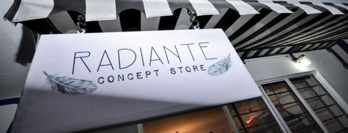 Radiante Concept Store is one of Must.
