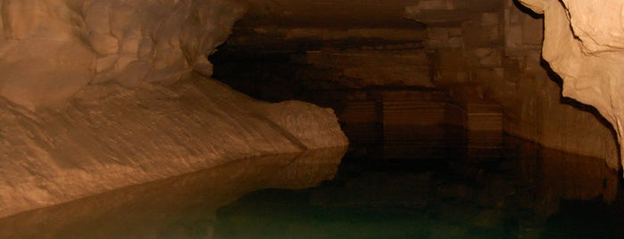 Bluespring Caverns is one of May Road Trip.