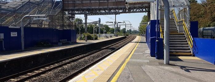 Taplow Railway Station (TAP) is one of TFL Elizabeth Line Stations.