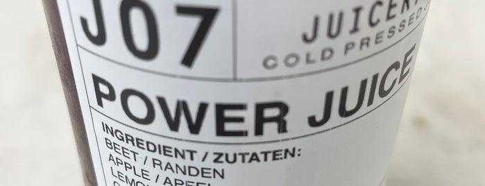 Juicery 21 is one of Zürich Zinober.
