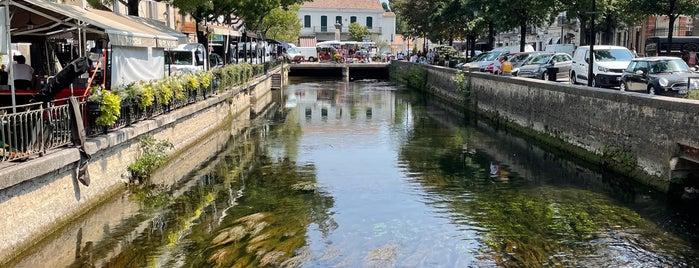 L'Isle-sur-la-Sorgue is one of Provence.