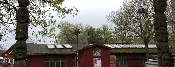 Christiania's Hovedindgang is one of Copenhagen.