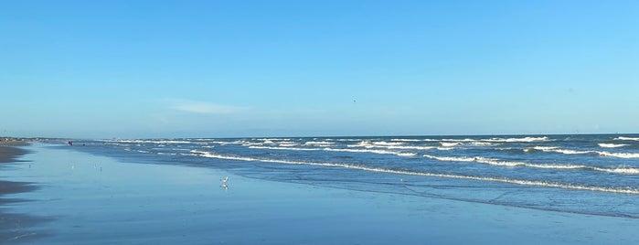 Mustang Island Beach is one of Andres : понравившиеся места.