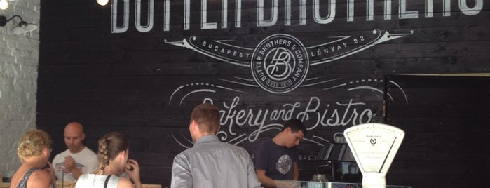 Butter Brothers is one of Budapest mixed.
