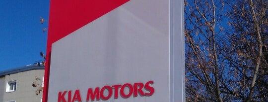 KIA Favorit Motors is one of «Коммерсантъ» в заведениях Москвы.