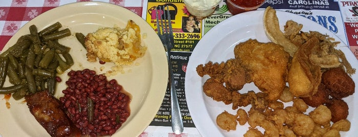 Fred Chason's Grandsons Buffet is one of RDU.