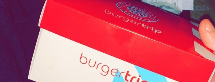 Burger Trip is one of Locais salvos de Raseel.