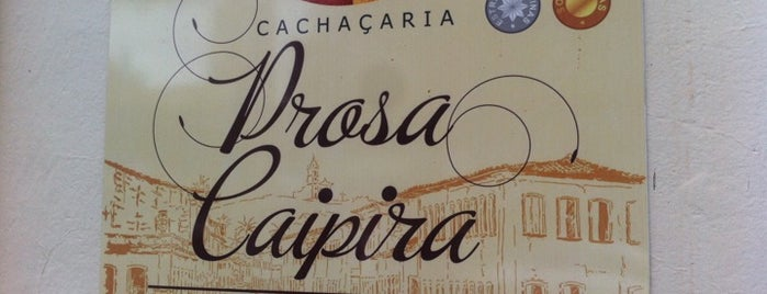 Cachacaria Prosa Paulista - Bar Do Nando is one of Lugares guardados de Leonardo.