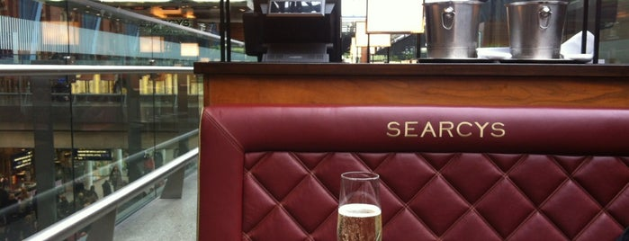 Searcys Champagne Bar is one of London.