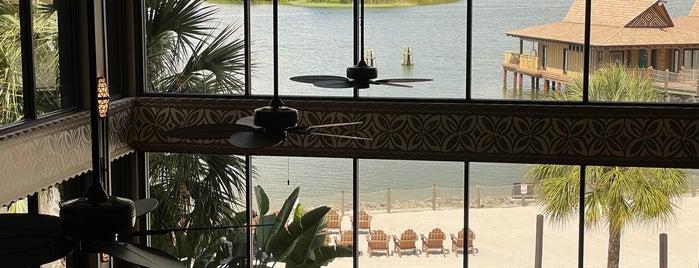 King Kamehameha Club (Concierge Lounge) is one of Disney World.