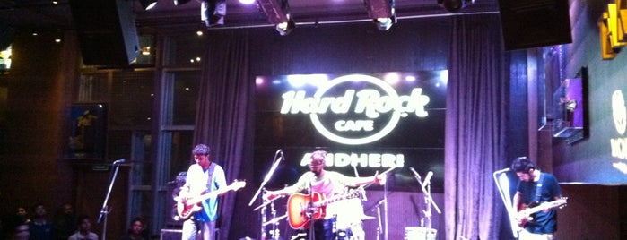 Hard Rock Cafe Andheri is one of Rajkamal Sandhu® 님이 좋아한 장소.