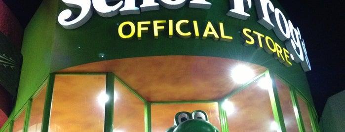 Señor Frog's Official Store is one of Tempat yang Disukai Tania.