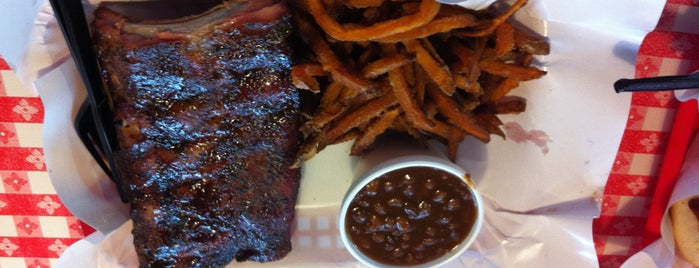 Pappy's Smokehouse is one of Route 66.