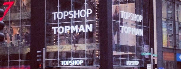 Topshop Topman is one of Chicago 2.