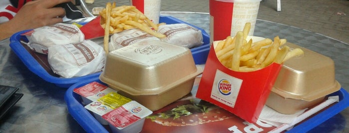 Burger King is one of Serkan 님이 좋아한 장소.