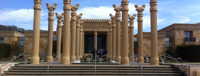 Darioush Winery is one of Napa.