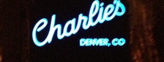 Charlie's Denver is one of Travel Tips 2014: Denver.