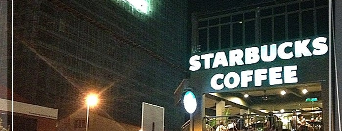 Starbucks is one of Malacca.