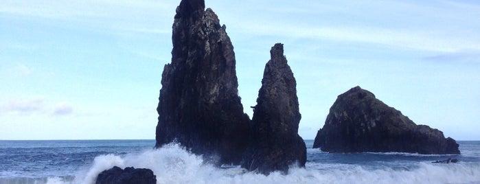 Ribeira da Janela is one of Madeira.