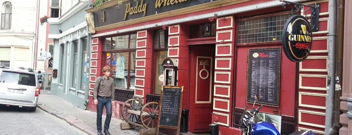 Paddy Whelan's is one of Riga.