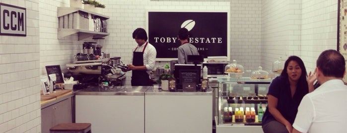 Toby's Estate Coffee Roasters is one of cafe crawl ☕️.